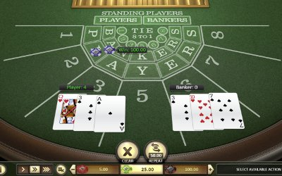 Baccarat from BetSoft