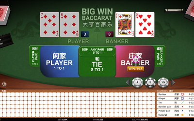 Big Win Baccarat from iSoftBet Image
