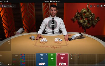 Live Super 6 Baccarat from BetConstruct