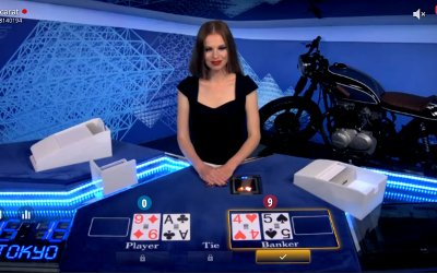 Live Bet On Baccarat from BetGames.tv