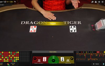 Live Dragon Tiger from Evolution Gaming