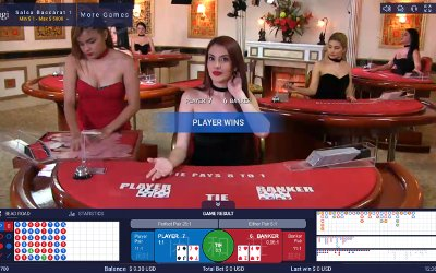 Live Baccarat from Ezugi