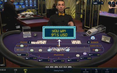 Live Baccarat from Lucky Streak
