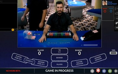 Live Baccarat from Visionary iGaming