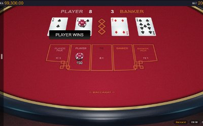 Baccarat from Microgaming