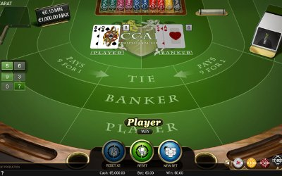 Baccarat Pro From NetEnt